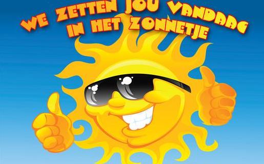 Gerard Kruijer in het zonnetje!